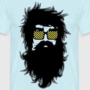 Men With Beards & Glasses - Men's T-Shirt