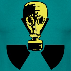nuclear logo sign symbol toxic radioactive atomic  T-Shirts - Men's T-Shirt