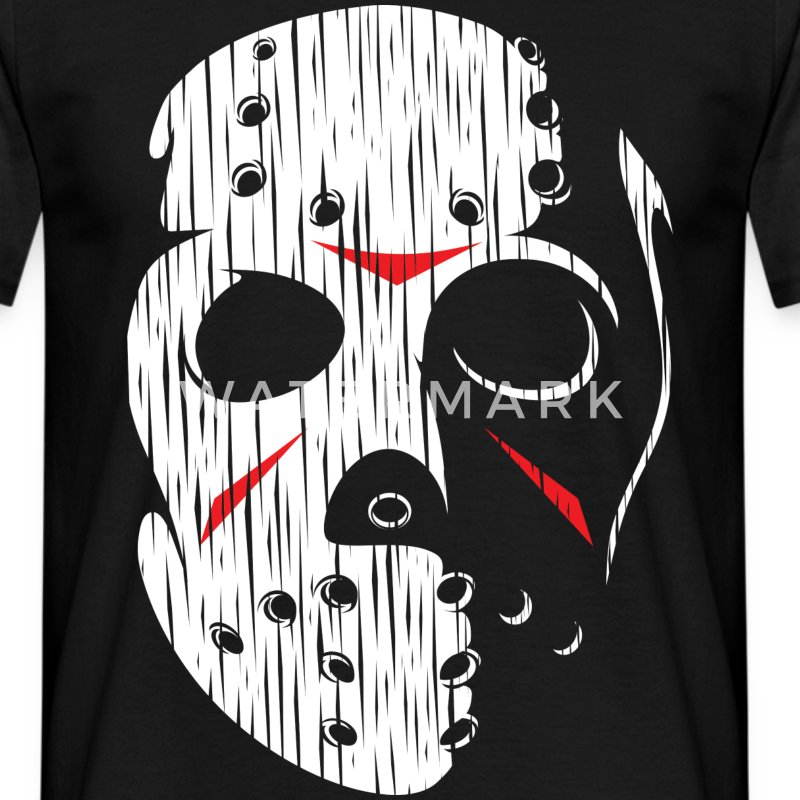 Hockey mask I - Men's T-Shirt