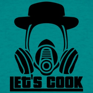 Let's Cook Breaking Gas Mask Crystal meth bad Heis T-Shirts - Men's T-Shirt