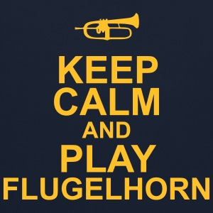Keep Calm and play Flugelhorn Sweaters - Contrast hoodie