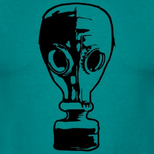 gasmask cool design 1 filter T-shirts - T-shirt herr