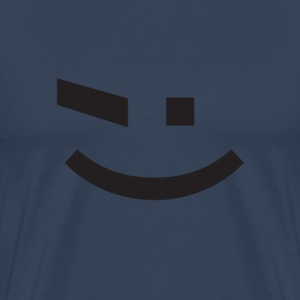 t-shirt emoticone ;) - T-shirt Premium Homme