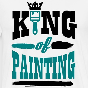 king of painting T-shirts - Premium-T-shirt herr