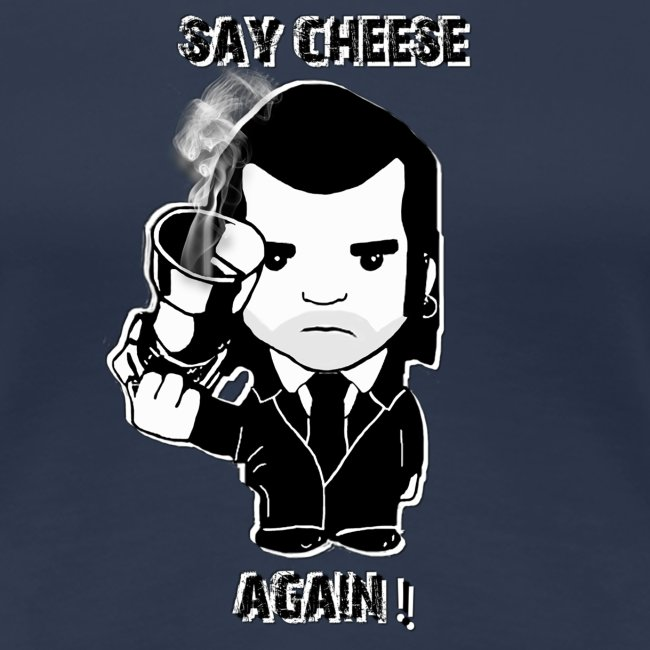 tee shirt - femme - Say cheese again 1