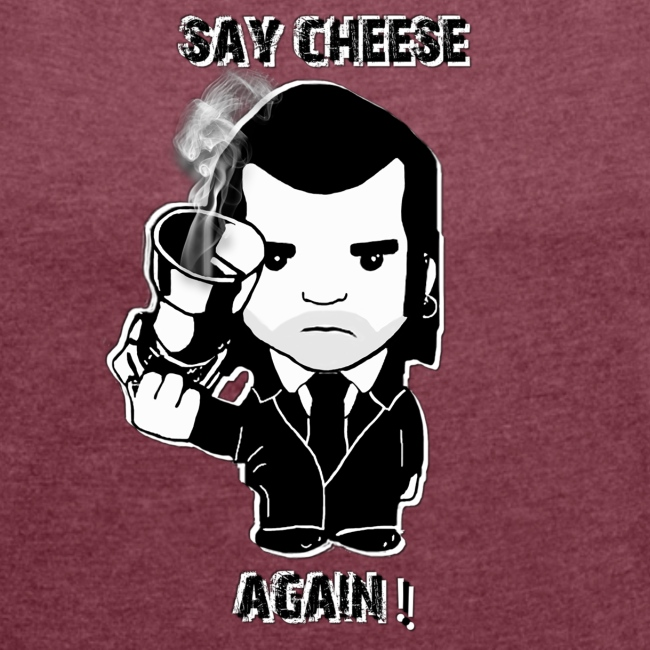 tee shirt - femme - Say cheese again 4
