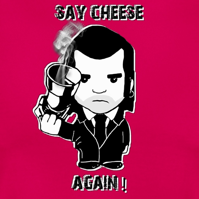 tee shirt - femme - Say cheese again 2
