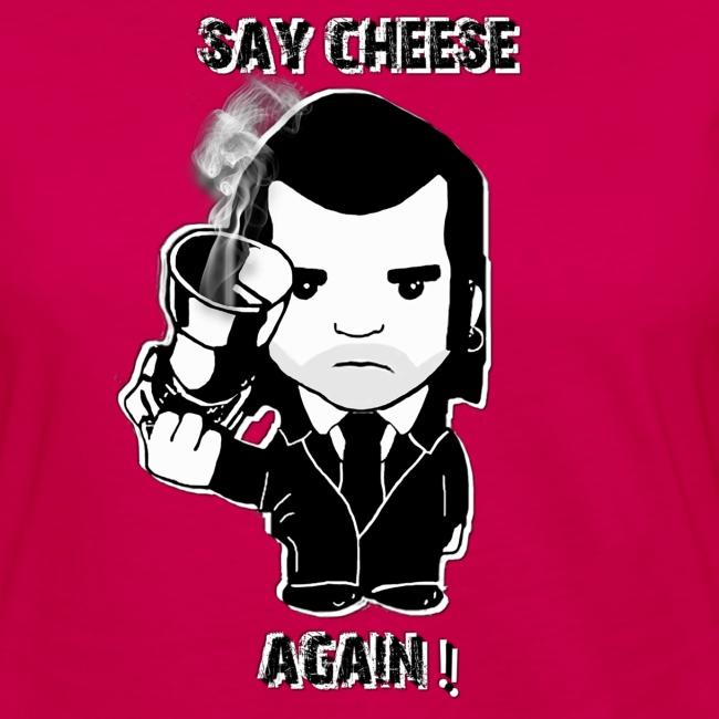 swaet shirt - femme - Say cheese again 1