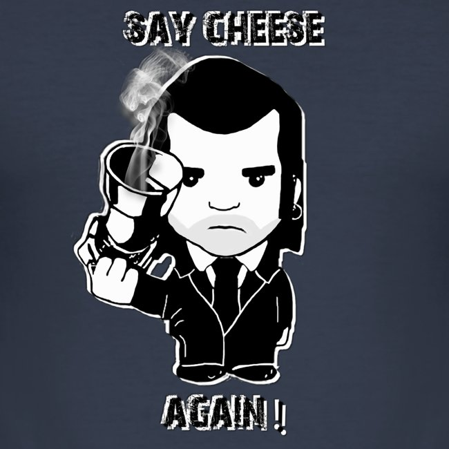 tee shirt - homme - Say cheese again 4