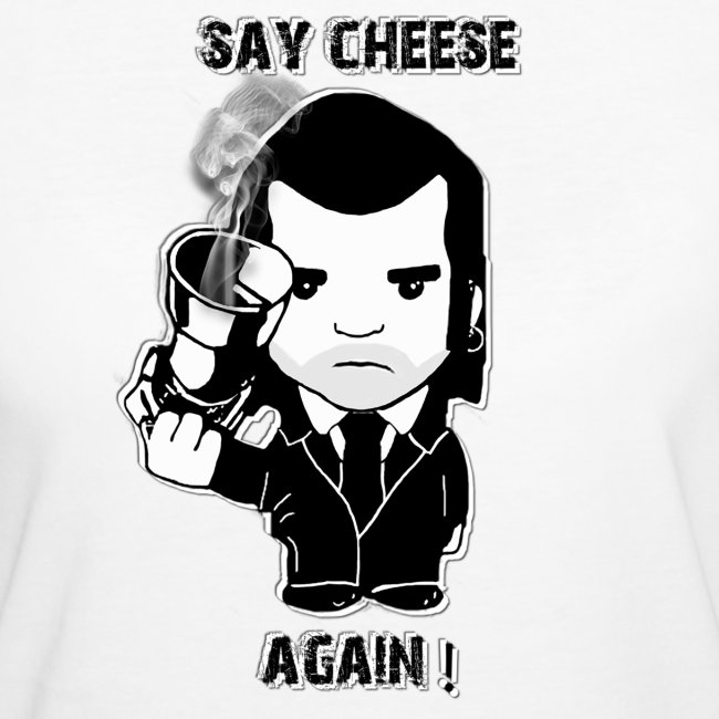 tee shirt - femme - Say cheese again 6