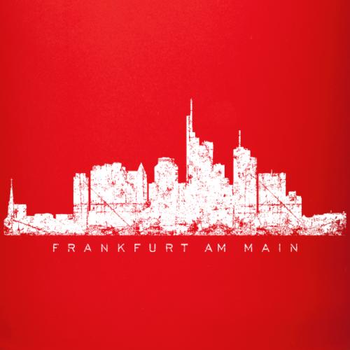 Frankfurt Skyline Vintage Weiß