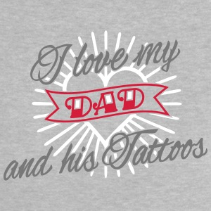 I Heart My Tattoo Daddy 3C Baby T-Shirts - Baby T-Shirt