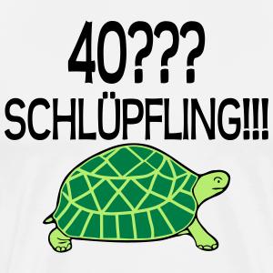 """Geburtstag T-Shirts mit """"40 Geburtstag Schlüpfling"""""""