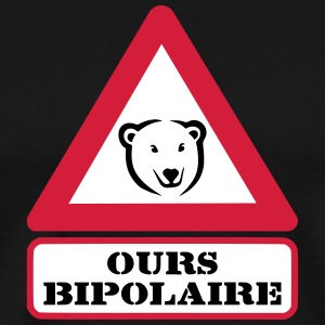 Ours Bipolaire Tee shirts - T-shirt Premium Homme