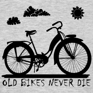 Old Bikes never die T-Shirts - Men's T-Shirt