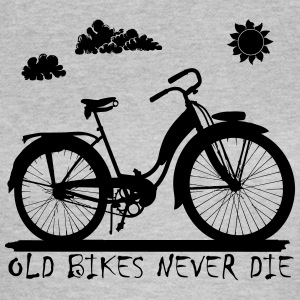 Old Bikes never die Tee shirts - T-shirt Femme