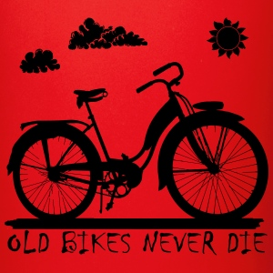 Old Bikes never die Mugs & Drinkware - Full Colour Mug
