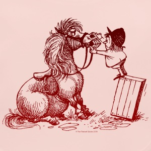 Thelwell - Pony with dentist Bavaglino neonato - Bavaglino