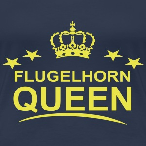 Flugelhorn Queen - Women's Premium T-Shirt