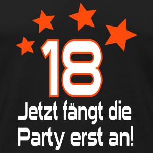 """Geburtstag T-Shirts mit """"18 Geburtstag Party"""""""