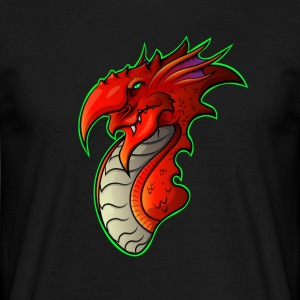 Welsh Dragon - Men's T-Shirt