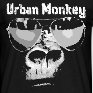 urban monkey T-Shirts - Men's T-Shirt