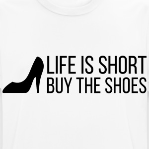 Life is Short. Buy the Shoes! (2015) T-Shirts - Men's Breathable T-Shirt