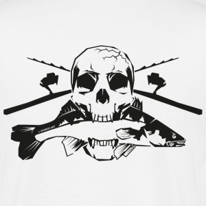 JSA Fishing Skull (R) black in high quality! T-Shirts - Männer T-Shirt