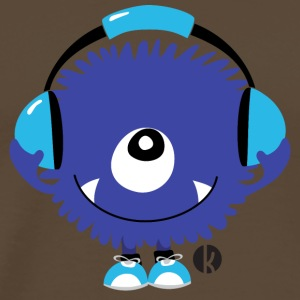 Sound Monster with Headphones T-Shirts - Männer Premium T-Shirt