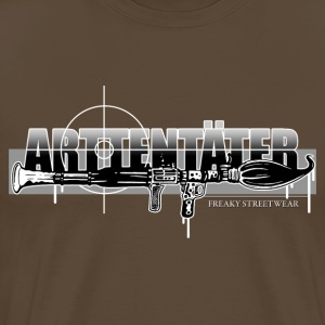 Arttentäter 3 - make art, not war T-Shirts - Men's Premium T-Shirt