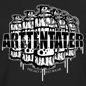 Arttentäter 2 - make art, not war Long sleeve shirts - Men's Premium Longsleeve Shirt