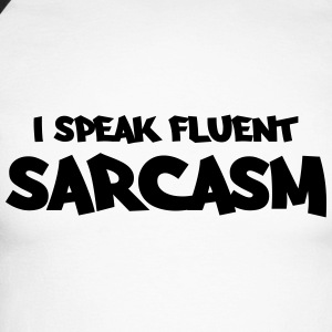 I speak fluent sarcasm Manches longues - T-shirt baseball manches longues Homme
