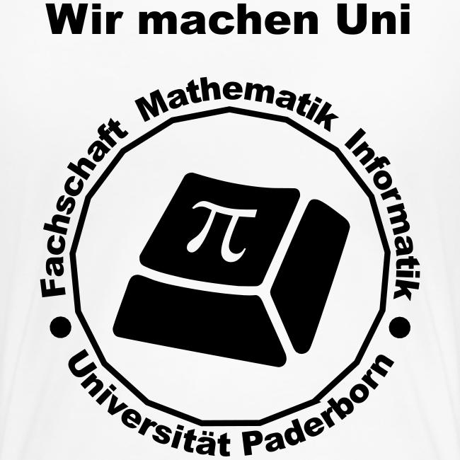 T-Shirt:Premium - Damen - Schwarzes Logo