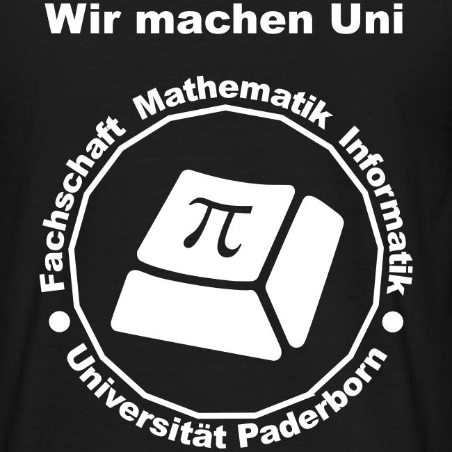 T-Shirt - Herren - Weißes Logo