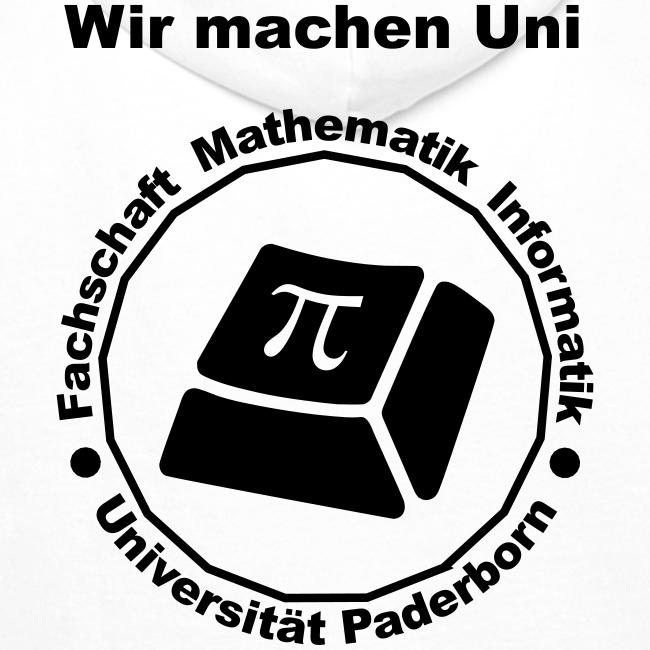 Hoodie - Herren - Schwarzes Logo