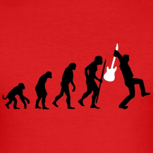 Evolution of rock Tee shirts - Tee shirt près du corps Homme