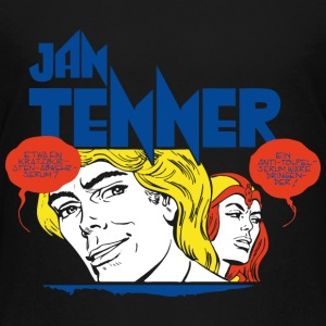 Jan Tenner und Laura Comic Teenager T-Shirt - Teenager Premium T-Shirt