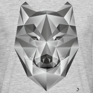 AD Grey Wolf T-Shirts - Men's T-Shirt