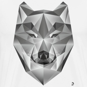 AD Grey Wolf Tee shirts - T-shirt Premium Homme