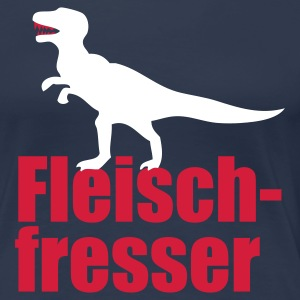 Fleischfresser - Girlie - Frauen Premium T-Shirt