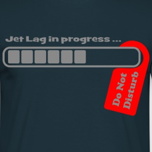 Jet Lag in Progress Tee shirts - T-shirt Homme