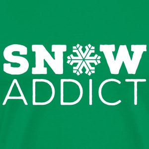 SNOW Addict T-Shirts - Men's Premium T-Shirt