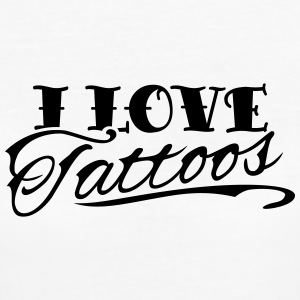 I Love Tattoos T-Shirts - Frauen Bio-T-Shirt