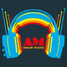 Retro Headphones T Shirt