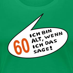 """Geburtstag T-Shirts mit """"60 alt"""""""