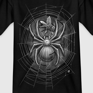 Spider Web Shirts - Teenage T-shirt
