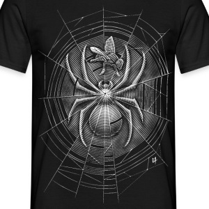 Spider Web Tee shirts - T-shirt Homme