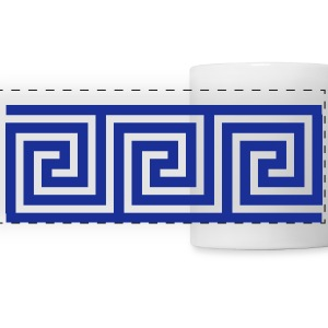 Greek Art Mugs & Drinkware - Panoramic Mug