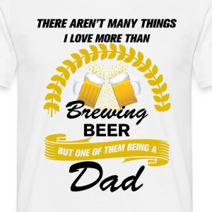 This Dad Loves Brewing Beer T-Shirts - Men's T-Shirt