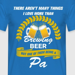This pa Loves Brewing Beer, T-Shirts - Men's T-Shirt